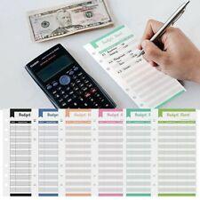 12pcs Budget Envelopes Cardstock Cash Envelope System For Money Saving;