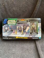 Star Wars le pouvoir de la force Jabbas Palace avec Han Solo in Carbonite Boxed