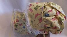 Adult Baby Sissy Bonnet and Bib Set Jammies