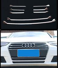 Neue hohe Qualität Chrom Kühlergrill Zierleisten für Audi A4 2016-2017 (8 Stück)