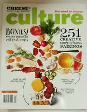 Culture Cheese Special Issue Creative Pairing Fresh Recipe 2015 FREE SHIPPING JB