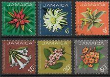 STAMPS-JAMAICA. 1973. Flowers Set. SG: 369/74. Fine Used.