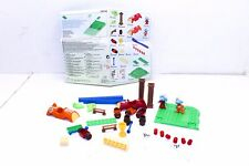 New Mega Bloks Baker Smurf Racin Smurf Box Set 29 Pieces #10745