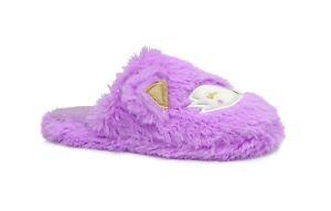 New Women and Girls Plush Animal House Slipper Cute Kitty || Sleepy Fox--