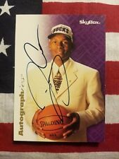 1996-97 Skybox Autographics Ray Allen SP on card autograph RC HOF!