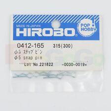 HIROBO 0412-165 SCEADU SDX FREYA 5MM SNAP PIN #0412165 HELICOPTER PARTS