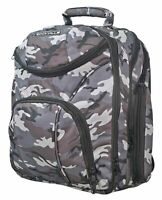 Rockville Travel Case Camo Backpack Bag For Mackie PROFX12V2 Mixer