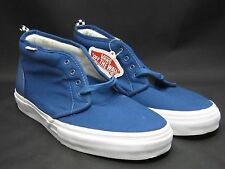 VANS x SUPREME CANVAS CHUKKA '95 PEBBLED DARK TEAL 9.5 LEATHER NEW DS F/W 2011