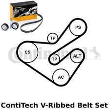 ContiTech V-Ribbed Belt Set Kit - Pt. No: 6PK1733K5 - 6 Ribs - OE Quality