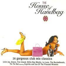 THE HOUSE OF HANDBAG - Double CD - 26 Gorgeous Club Mix Classics ! 1995.