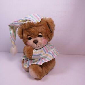 Vtg 1985 Fisher Price #1401 TEDDY BEDDY BEDTIME BEAR Stuffed Plush