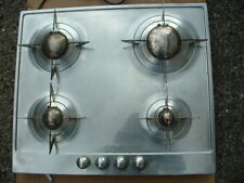 SMEG STAINLESS STEEL GAS HOB. IDEAL FOR STUDENT/PROPERTY LET.