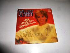 """WILLEKE ALBERTI - Mijn Hoofd Weer Op Je Schouder - 1982 Germa 7"""" Juke Box Single"""
