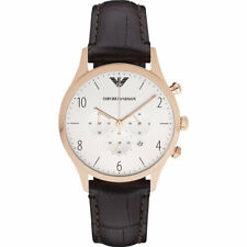 100 Emporio Armani Ar1916 Ladies Women Analog Casual Classic Brown Watch