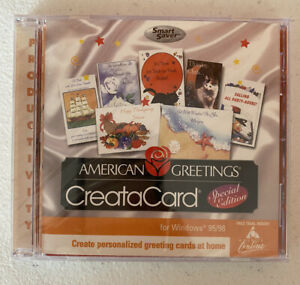 American Greetings Creatacard Special Edition For Windows 95/98 *NEW SEALED*