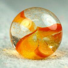 Vintage Marble: NM+ 19/32 C.E. Bogard Orange Cat Eye - One Killer Old Mib