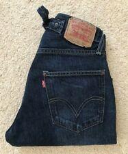 Levis 542 04 blue straight leg denim high rise jeans W 28 L 29