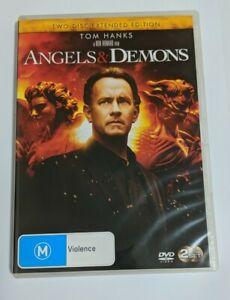 Angels & Demons (DVD, 2009, 2-Disc Set) Theatrical Edition, Tom Hanks R4