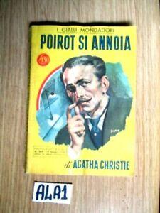 AGATHA CHRISTIE poirot si ANNOIA MONDADORI N° 383 del 19-5 1956     (A4A1)