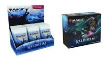 Mtg Magic Kaldheim Set Booster Box + Bundle Combo