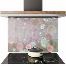 Kitchen Tempered Glass Splashback Protection coctail fruit green