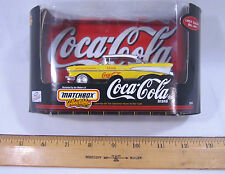 Matchbox Collectibles 1957 Chevrolet Bel Air Yellow Coca Cola Coke 1:43