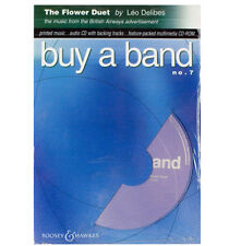 BUY A BAND No 7 THE FLOWER DUET DELIBES CD-ROM C Bb Eb TREBLE CLEF INSTRUMENTS -