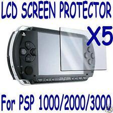 5 Sony PSP Protector Screen Film Skin Shield Lens US Seller 1000 2000 3000 lcd