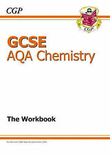 GCSE Chemistry AQA Workbook by CGP Books (Paperback, 2006)