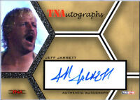 TNA Jeff Jarrett 2008 Impact SILVER Authentic Autograph Card