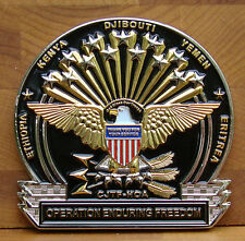 Combined Joint Task Force Horn Africa Challenge Coin J4