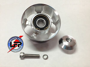 SVT MUSTANG COBRA LIGHTNING SHELBY 90mm DOUBLE BEARING 10 RIB IDLER PULLEY