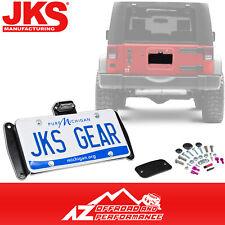 Jks Licencia Placa Recolocación Kit Con / Luz Para 07-18 Jeep Vaquero JK Jku
