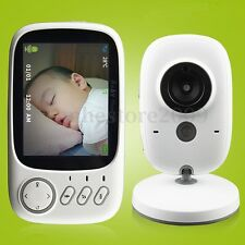 3.2 Inch Color LCD Digital Wireless Baby Monitor Camera Night Vision Audio Video