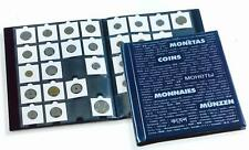 Lighthouse A4 Sized Coin Album for 200 Card coin Holders 10 Pages of 20 Pockets