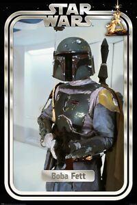 "Star Wars - The Empire Strikes Back - Movie Poster (Boba Fett) (Size: 24"" X 36"")"