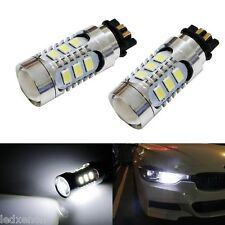 2 AMPOULE LED EN CULOT PW24W A 14 LED POUR FEUX DE JOUR DIURNE BMW F30 316 320