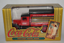 Coca Cola 1931 Hawkeye Delivery Truck Bank 1:34 Diecast 1993 ERTL