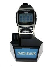 NEW Casio 300 Page E Data Bank Memory Calculator EDB610D-1C Resin Wrist Watch