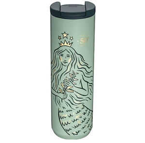 Starbucks Siren 50th Anniversary Tumbler Cup Stainless Mermaid 2021 -no card