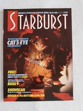 STARBURST MAGAZINE AUG 1985 No 84 CAT'S EYE RIGEL 9 LINDA HAMILTON