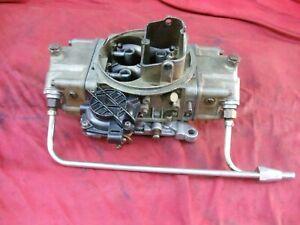 Holley 3310-4 Carburetor Vacuum Secondary 750 CFM