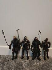 Orc Berserker Lurtz Uruk Hai Figures Lord Of The Rings Toybiz LOTR