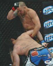 Travis Browne Signed UFC 8x10 Photo PSA/DNA COA Picture Autograph 168 145 135 FX