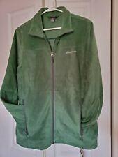 Eddie Bauer Men's Full-Zip Fleece Jacket. EB200. Sz M  Grass - NEW w/ TAGS