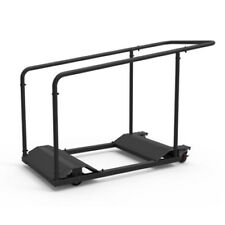 Lifetime Black Table Cart 80339 (Formerly 6520) Stores Up To 10 Tables Rolling