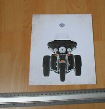 Harley Davidson Tri Glide Trike USA Sales Catalogue