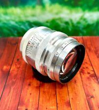 KMZ ! 1958 !!! early ! JUPITER 9 2x85mm lens for Leica M39  EX+++