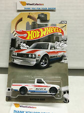 Datsun 620 WHITE * 2016 Hot Wheels * Truck Series * Special Edition * J30