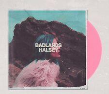 """HALSEY 12"""" PINK Color Vinyl LP BADLANDS record album"""
